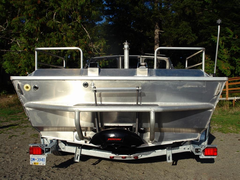 21' Jet Boat - The Ultimate River Boat - Aluminum Boat by Silver Streak