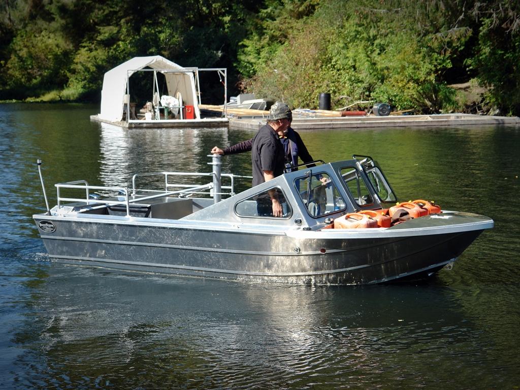 16' Jet Boat - Ultimate River Boat - Aluminum Boat by Silver