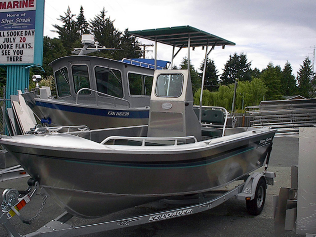 17 Centre Console All Welded Aluminum Boat