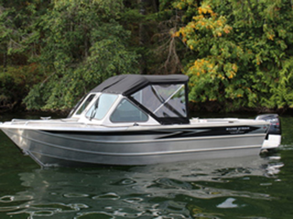 18 Race Rocks Soft Top All Welded Aluminum Boat