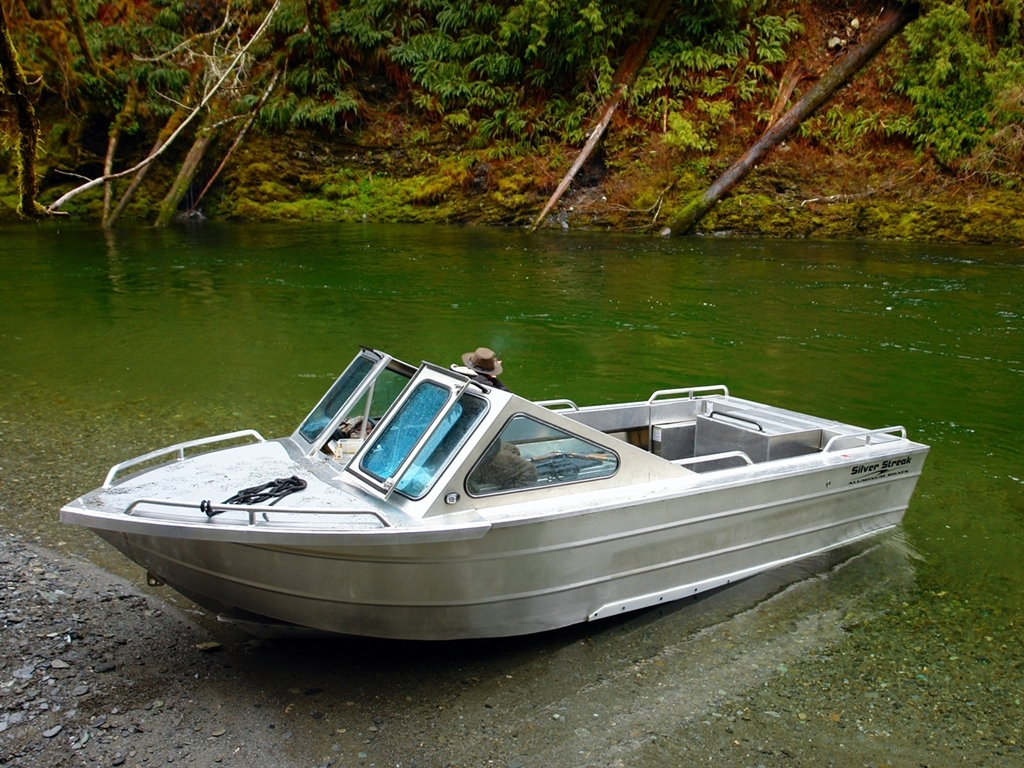 Aluminum Boats For Sale Bc >> Jet Boats Hand Made By Silver Streak Boats Ltd Sooke Bc Canada