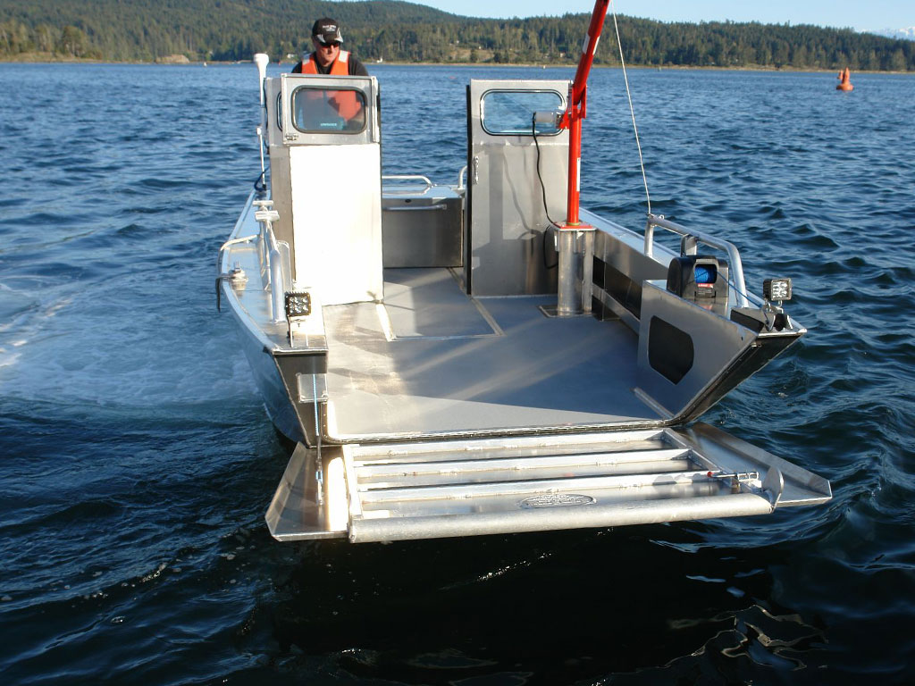 19 Prospector Jet Landing Craft Aluminum Boat By
