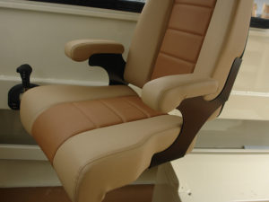 solid Aluminum for swivel seat