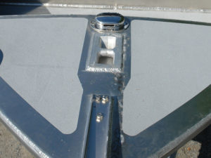 Cleat - flush mount (tie-down)