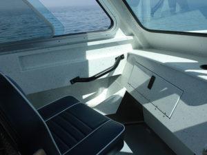 Handrail - cabin for passenger