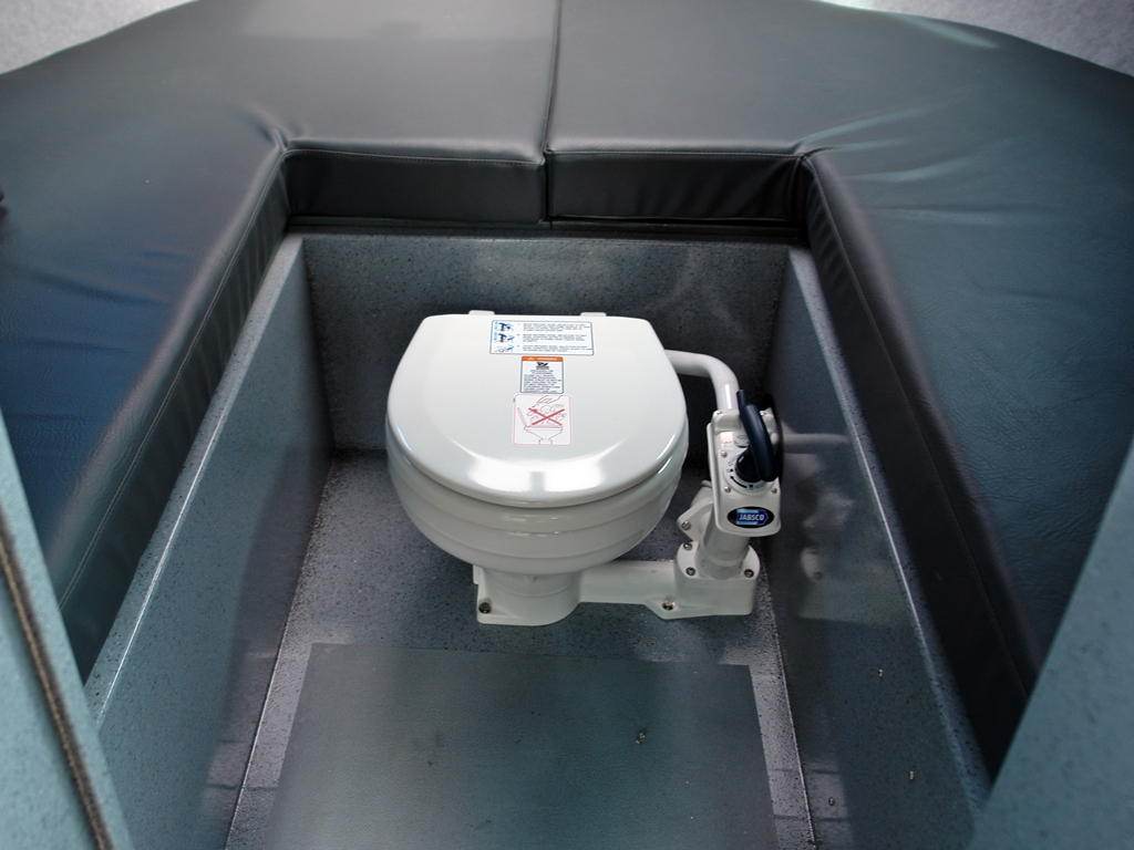 Portable Boat Toilet : 21 phantom special edition aluminum boat by silver streak boats