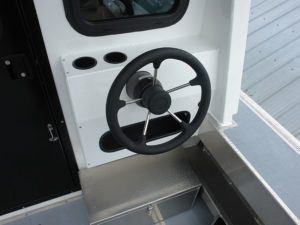 dual-station-steering-console