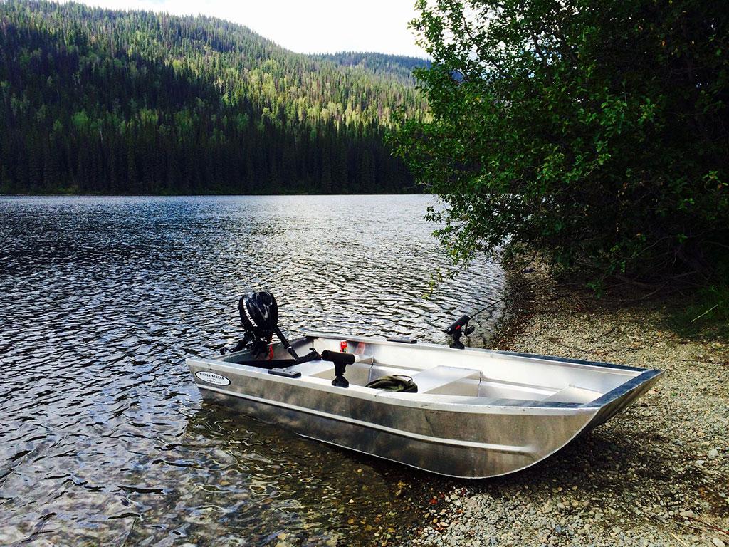 12' Duck Boat - Aluminum Boat by Silver Streak Aluminum Boats.