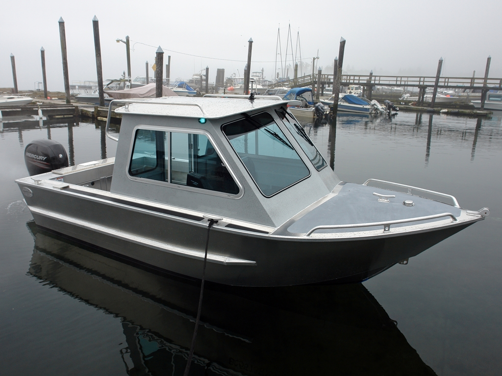 Aluminum Boat Cabins : Renfew soft top aluminum boat hand crafted by silver