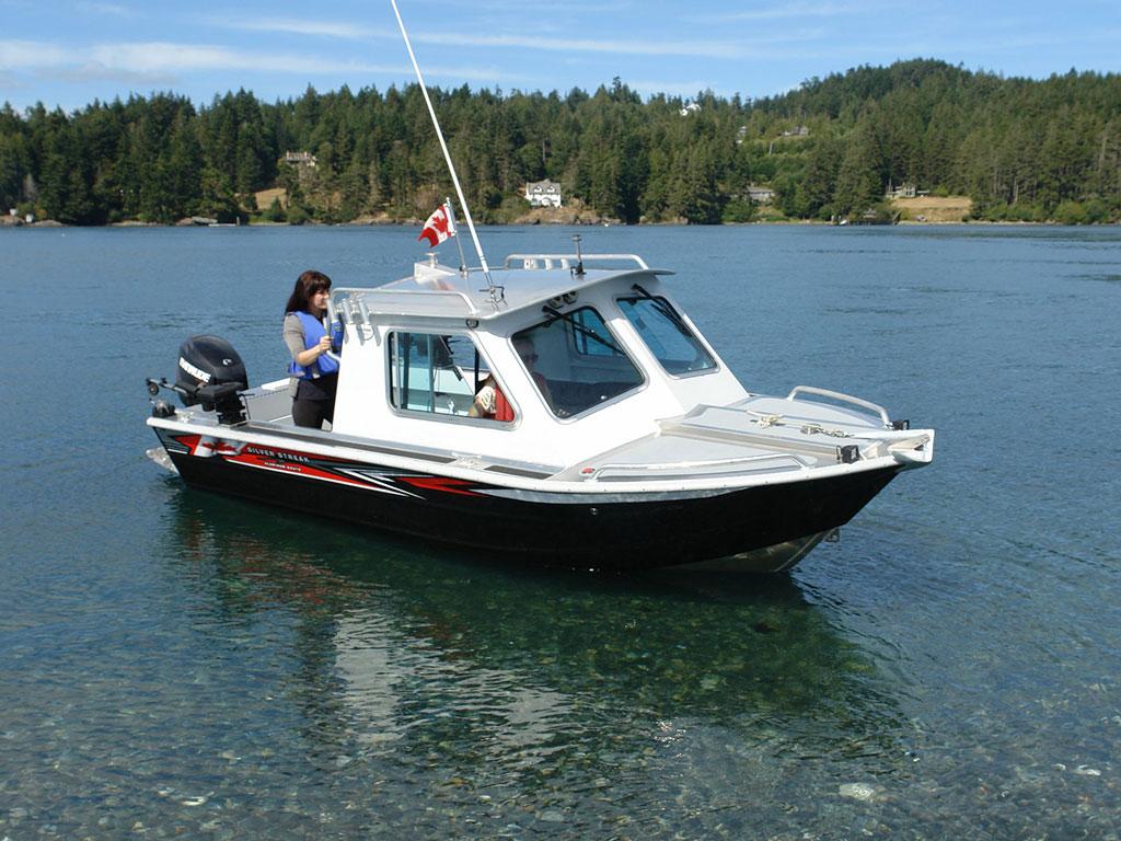 Aluminum Boat Hard Tops : Carmanah hard top aluminum boat hand crafted by