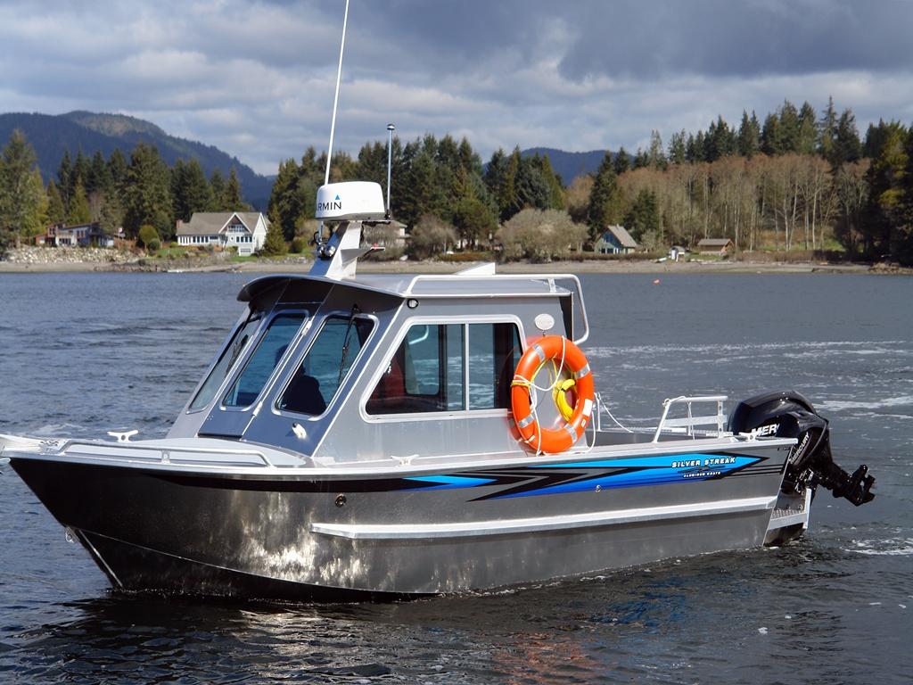20 Bowen Aluminum Cabin Boat By Silver Streak Boats