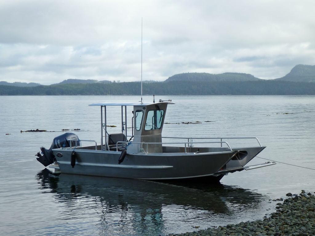 20' Landing Craft Centre Console Aluminum Boat By Silver Streak Boats