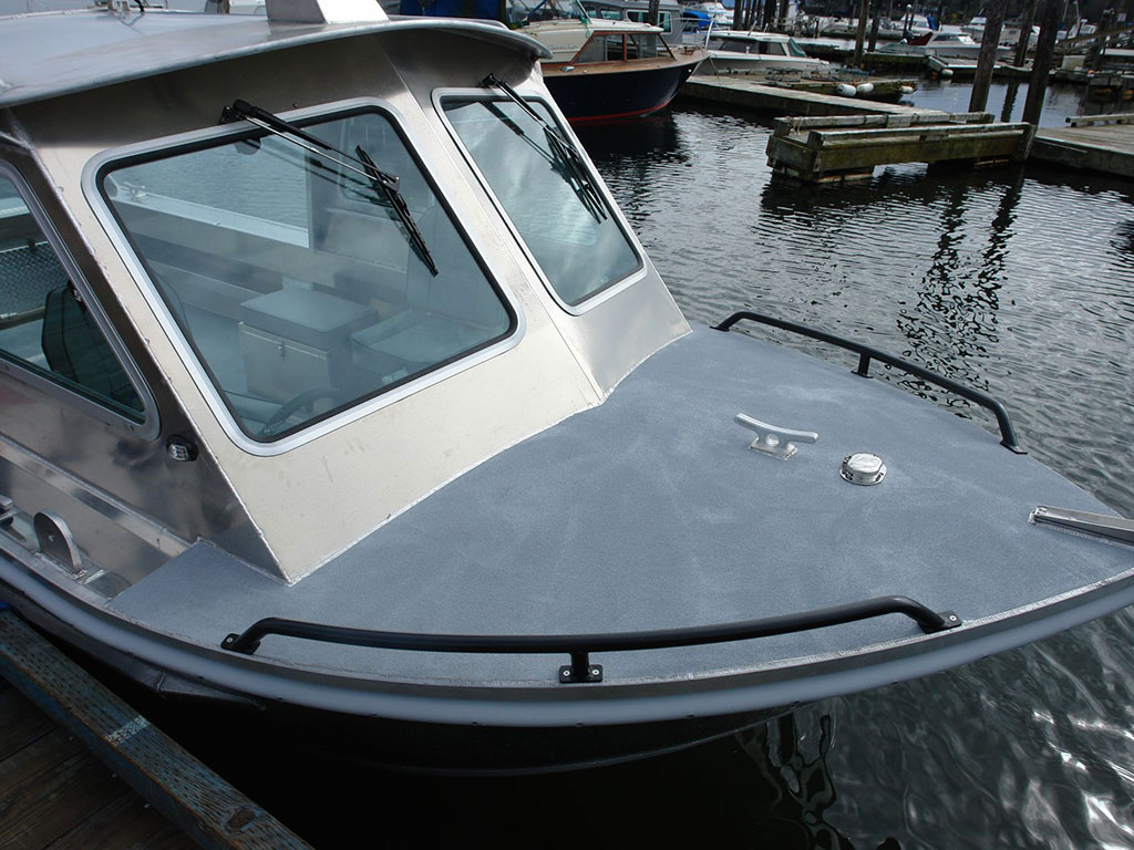 Aluminum Boat Hard Tops : Renfew hard top aluminum boat hand crafted by silver
