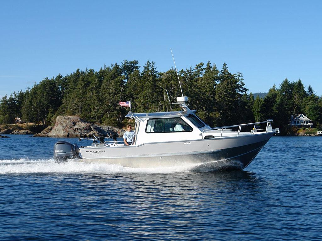 30 Cuddy Cabin Aluminum Boat By Silver Streak Boats