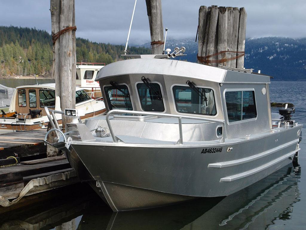 25 Swiftsure Xw Aluminum Cabin Boat By Silver Streak Boats
