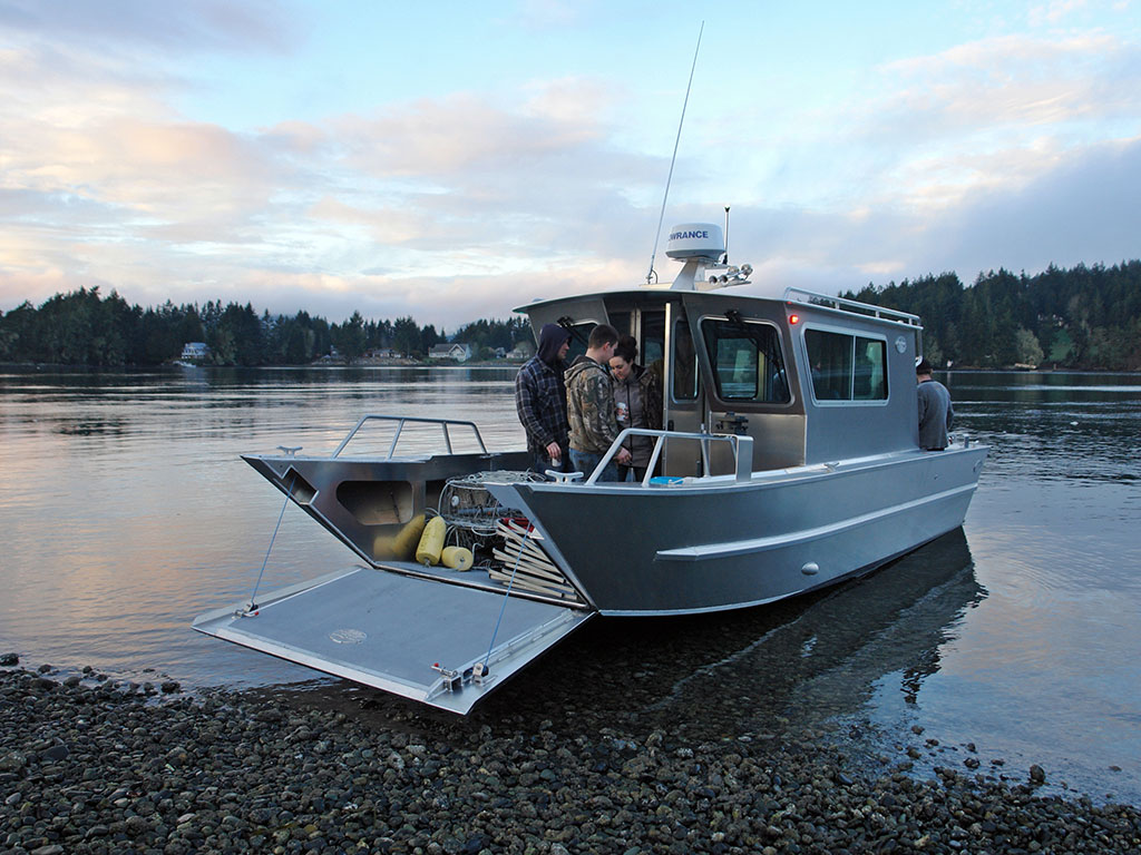 Landing Craft With Cabins - Handmade By Silver Streak Boats Ltd.