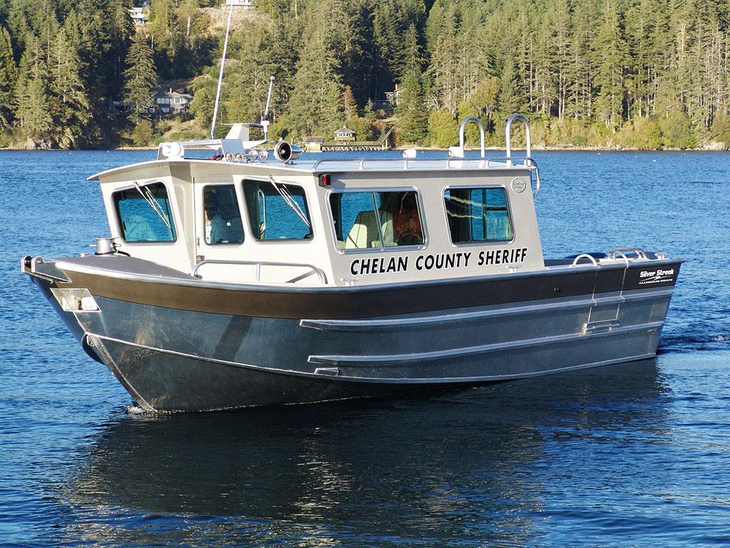 Aluminum Boat Cabins : Salish aluminum cabin boat by silver streak boats