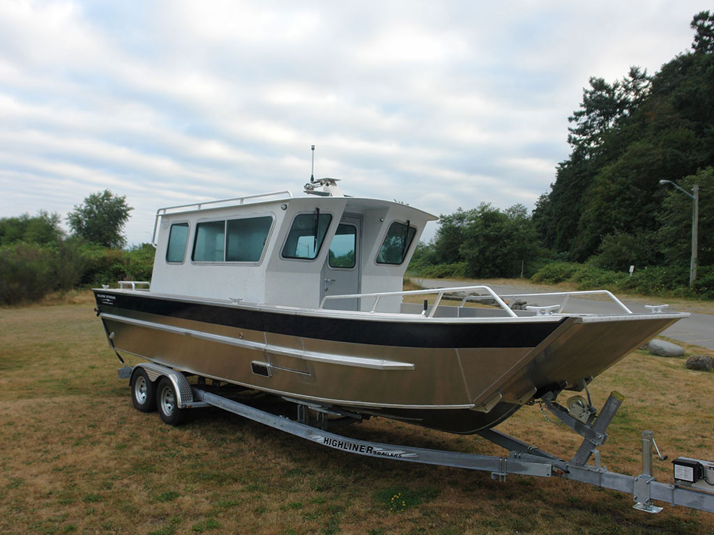 Craft aluminum boats for Aluminum boat with cabin for sale
