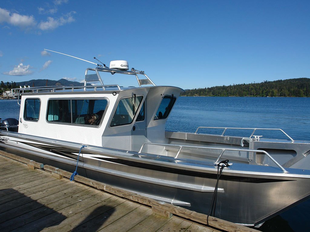 Duck Hunting Boats For Sale >> 30' Sitka Landing Craft Cabin Aluminum Boat by Silver ...