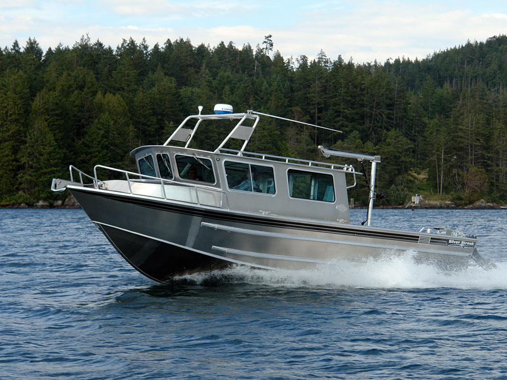 Aluminum boats aluminum boats with cabin for Best small cabin boats