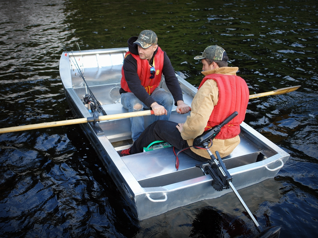 Duck Hunting Boats For Sale >> 12' Duck Boat - Aluminum Boat by Silver Streak Aluminum Boats.
