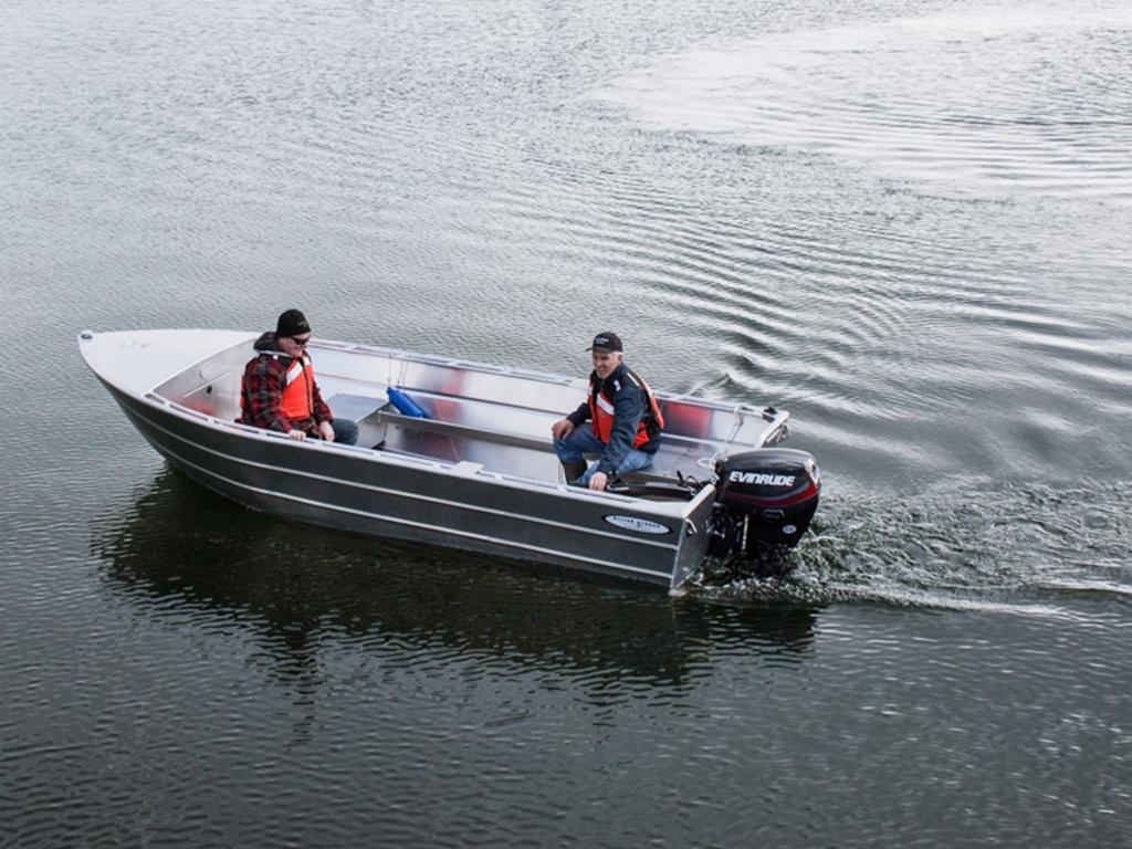 16' Open Boat - Deep Vee Edition - Aluminum Boat by Silver Streak