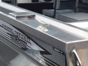 """8"""" Aluminum Welded Cleat"""