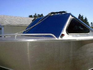 Windshield cover (padded) for Jet Boat