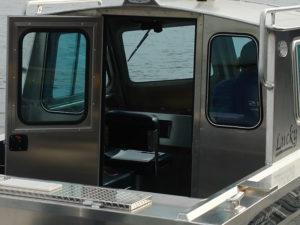 Welded-bulkhead-with-hinged-door