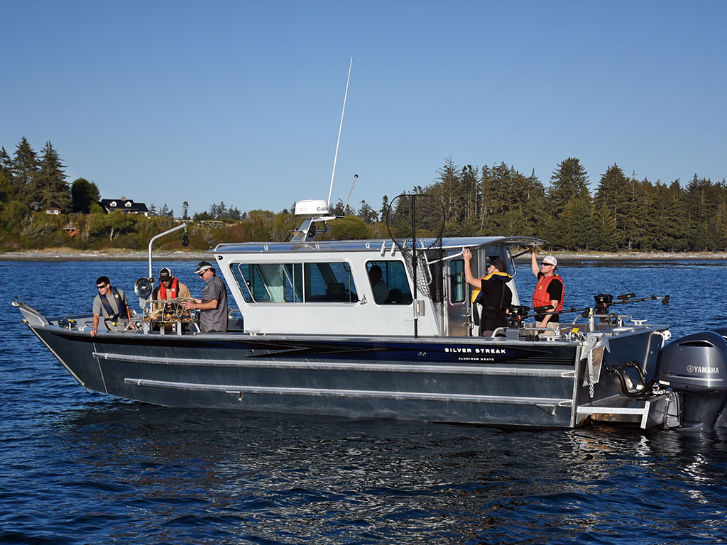 30 Sitka Landing Craft Cabin Aluminum Boat By Silver